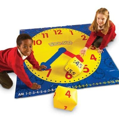 Time activity mat,learn to tell the time resources,time classroom resources,classroom resources to learn time,teach the time games