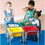 Titchy Tubs Set of 4 Colour Tubs