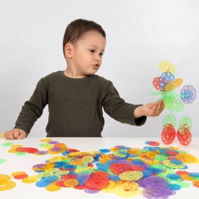 Translucent Linking Discs,Fine motor skills games,school numeracy resources,classroom numeracy resources