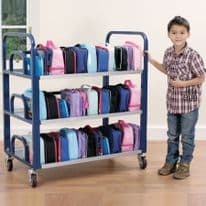 Tuf Double Lunchbox Trolley