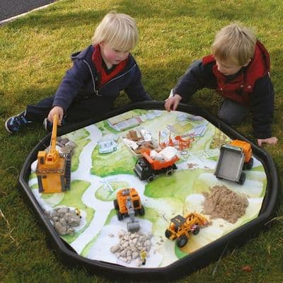 Tuff Tray Insert Builders Yard Mat,Tuff Tray Insert space station,Tuff tray mats,early years resources, educational resources, educational materials, children's learning resources,