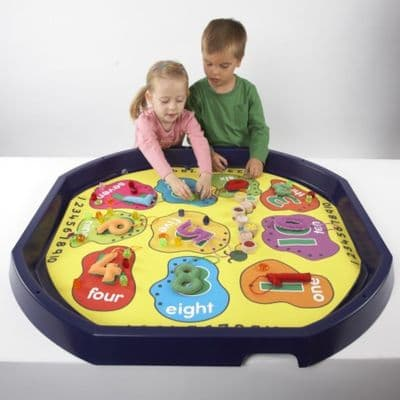 Tuff Tray Insert Number Mat,Tuff tray mats,early years resources, educational resources, educational materials, children's learning resources,