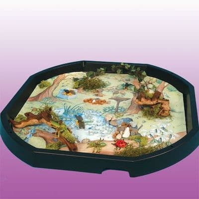 Tuff Tray Insert Woodland Mat,Tuff tray mats,early years resources, educational resources, educational materials, children's learning resources