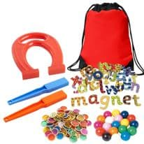 Tuff Tray Play Ideas Kit -Magnetic Play Resources
