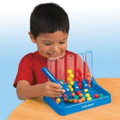 Tweezer Tongs Colour Sorting Set,Lakeshore tweezer tongs game,pincer development,fine motor,early years resources, educational resources, educational materials, children's learning resources, children's learning material