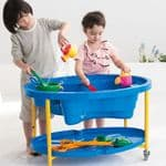 Weplay Nursery Sand And Water Table Blue
