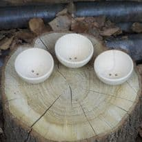 Wooden Bowls Set of 3 (70mm dia)