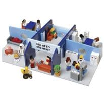 Wooden Health Centre Play Set