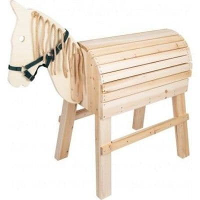 Wooden Horse,Natural wooden play toys,natural outdoor toys,outdoor nature toy resources,outdoor classroom resources.