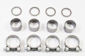 GSX1400 4-2 Exhaust Gasket Seals Rings & Clamps Kit 7