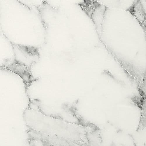 Duropal Carrara Marble 20mm Worktops S63009  Square Edged - XM