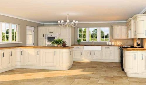 Gainsbourgh Alabaster Shaker Style Doors