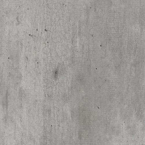 Grey Shuttered Concrete Spectra Square-Edge Custom-Made Large - Up To 4050mm x 1200mm Curved
