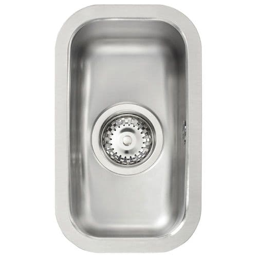 Tuscan Florence  Sink -Stainless Steel - Half Bowl Undermount Sink - TS126