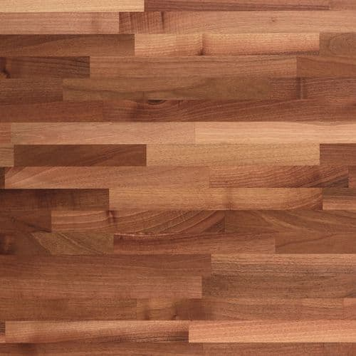 Tuscan Unfinished Solid Wood Worktops - Walnut