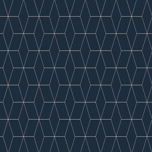Vista Splashbacks by Bushboard - Blocked Hex Midnight